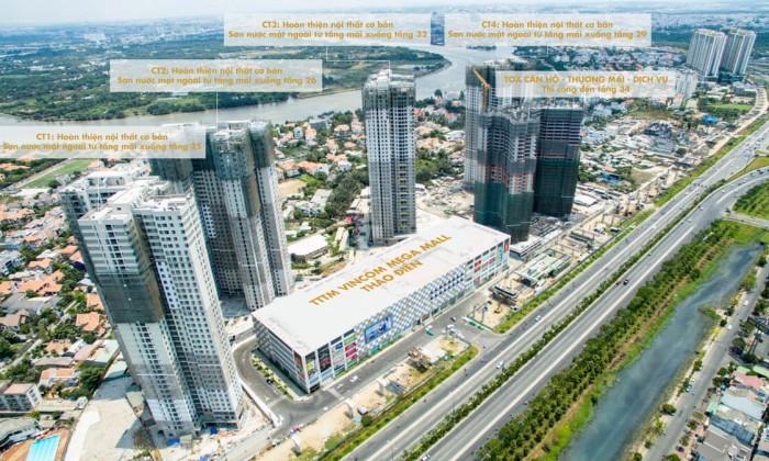 Bán nhiều căn Masteri, 68m2, giá 2,9 tỉ, diện tích lớn. LH 09099 88697
