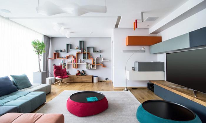 4 cách để mang xu hướng color block về ngôi nhà của bạn