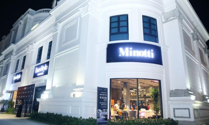 Trải nghiệm thực tế ở Minotti Concept Store đầu tiên tại Việt Nam